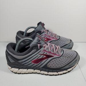 Womens Brooks Ariel 18 Wide Premium Running Shoes
